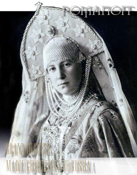Imperial Pearls and Diamonds of the Grand Duchess Maria Georgievna of Russia | Princess Maria of Greece and Denmark
