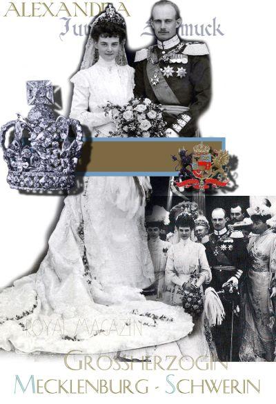 Königlich und Kaiserliche Hochzeitsgeschenk an die Prinzessin Alexander von Hannover-Cumberland, Großherzogin von Mecklenburg-Schwerin
