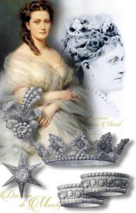 Princess Anne Murat Duchess de Mouchy | Jewels Bonaparte Imperial Jewelry