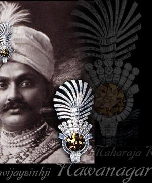 The Tiger's Eye|Turban Ornament| Important Diamonds