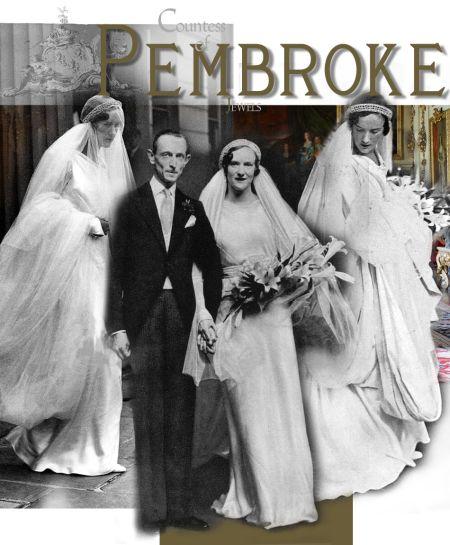 Diamond Bandeau Diadem Tiara| Countess of Pembroke |Lady Mary Herbert Wedding Tiara and Presents |Royal Jewel History          Diamond Wedding Tiara Countess of Pembroke |Art Deco Diamond Bandeau|Lady Mary Hope