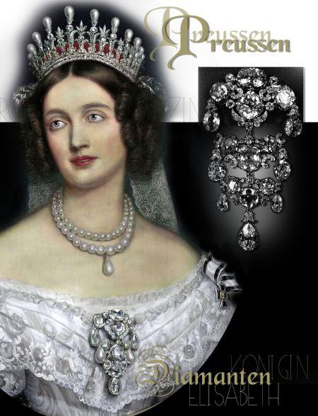Pearl and Diamond Tiara | Princess Elisabeth of Bavaria | Crown Princess of Preussen|Queen Hohenzollern-Preussen