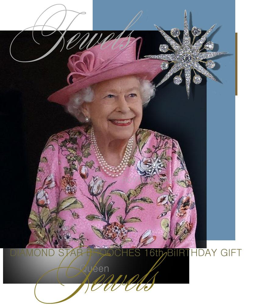 Queen EliZabeth II|Diamond  Star Brooch, starry brooch of diamonds  #royaljewels #kensingtonpalace #royalfamilies #royalty #instaroyals #royalsnews #royalfamily #familiareal #britishroyalfamily #britishroyals #mountbattenwindsor #royalcrown #buckinghampalace #britishmonarchy #britishroyalty #houseofwindsor #TheBritishMonarchy #BritishRoyalFamily   #queenelizabeth   #royals #royalty #royalfamily #britishroyals #britishroyalfamily #queenelizabethII  #brooch #diamonds #pearls #royalhistory #royaljewels #royaljewelry #royaljewellery #crownjewels #jewels #jewelry #jewellery