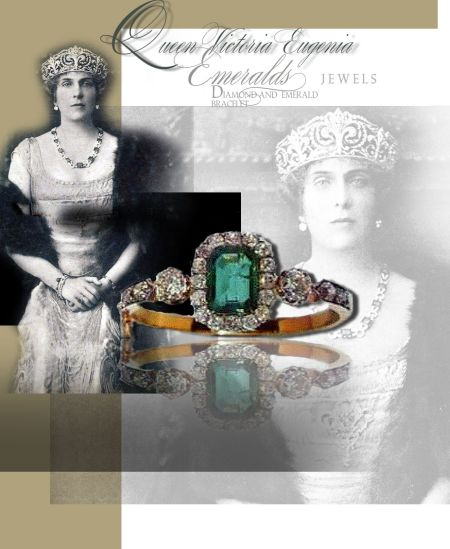 Emerald and Diamond Bracelet|Queen Victoria Eugenia of Spain|Infante Jaime, Duke of Segovia Madrid| Royal Jewel History| Victoria Eugenia de Battenberg,reina de España, Historia de sus Joyas Pulsera reina ena reina de españa reina reina victoriaeugenia queen victoria eugenia spanishroyalfamily casareal casareale spañola casa de borbón house of bourbon spanishroyals ,reina de España, Historia de sus Joya monarquia española,ansorena count of madrid infante jaime infante Don jaime de Borbon, pulsera esmeralda