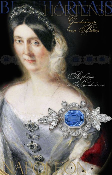Imperial Sapphire Parure Queen Hortense of Holland | Present to Stephanie Beauharnais Grand Duchess of Baden|Royal Jewel History