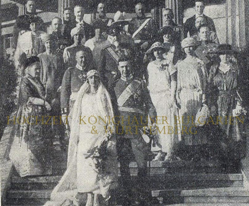 Hochzeit Königshäuser Württemberg Bulgarien
