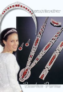 Bourbon Parma Royal Imperial rubies | Parure Chaumet | Marchioness of Laula