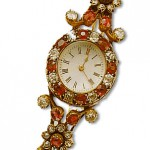 Ruby Diamond Watch Wedding present to Queen Mary