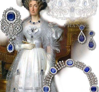 Saphire Orleans | Imperial and Royal Sapphire Queen Marie Amelie of France | Marie Amelie Reine des Français