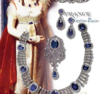 Saphir Diamant Parure- Schmuck der Kaiserin Josephine von Frankreich | Sapphire Empress Josephine of France