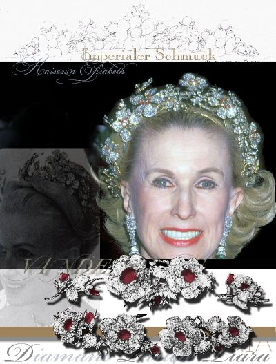 Wildroses Diamond Tiara Diadem | Imperiale und Diamant Parure | Elisabeth of Austria Habsburg Schmuck Royal and Imperial Jewels