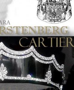 Fürstenberg Cartier Diadem Tiara | Steel Diamond