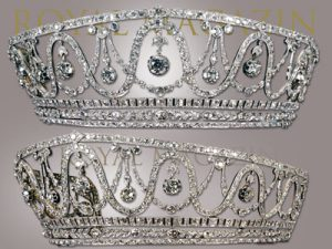 Diamant Diadem der Grossherzogin Hilda von Baden | Diamond Tiara of Grandduchess of Bade