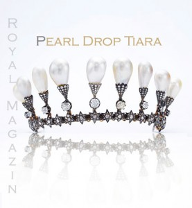 Perlen Diamant Diadem | Pearl Drop Tiara - Pearltiaras in History