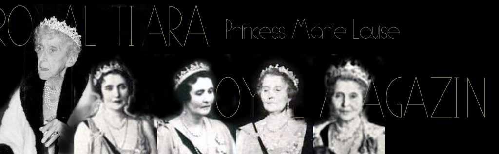 Princess Marie-Louise Diamond Tiara | Lady Ramsey | Princess of Great Britain&Ireland | Schleswig-Holstein