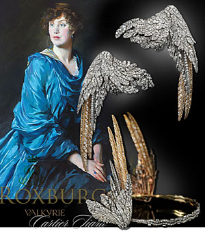 Valkyrie Cartier Diamond Tiara| Important Noble Jewels | Mary Duchess of Roxburghe | Jewel History