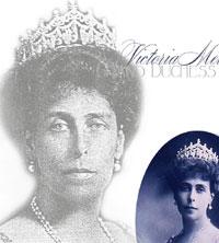 Grand Duchess Victoria Melita Imperial Diamond Kokoshnik Swag Tiara