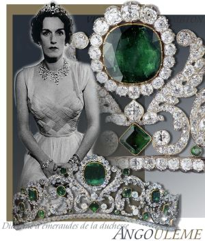 Smaragd Diamant Tiara | Imperialer Schmuck Frankreich |Herzogin von Angouleme