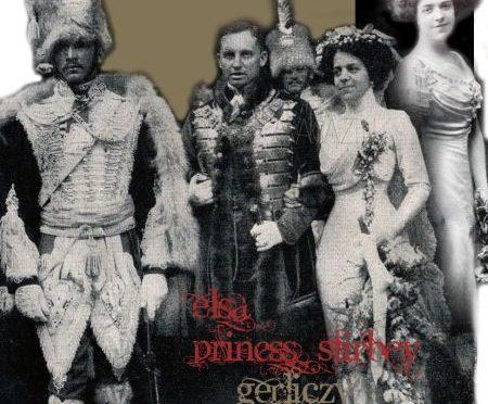 Baroness Félix de Gerliczy-Buriánnée Princess Elizebeth Stirbey |Mariage Princier| Cadeau Corbeille de Mariage