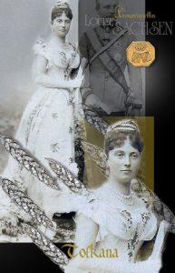Erzherzogin Louise von Toscana | Hochzeits Schmuck und Juwelen Geschenke Ährendiadem aus Diamanten