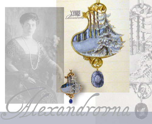 Romanov Jewels | Winter Pendant Lalique Grand Duchess Xenia Alexandrovna Romanova  Russian Imperial Jewelry History